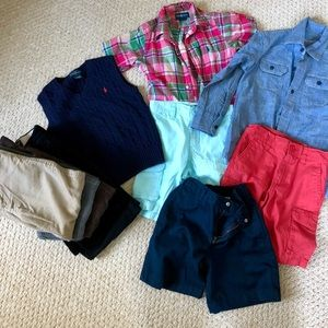 10 piece boys bundle size 6